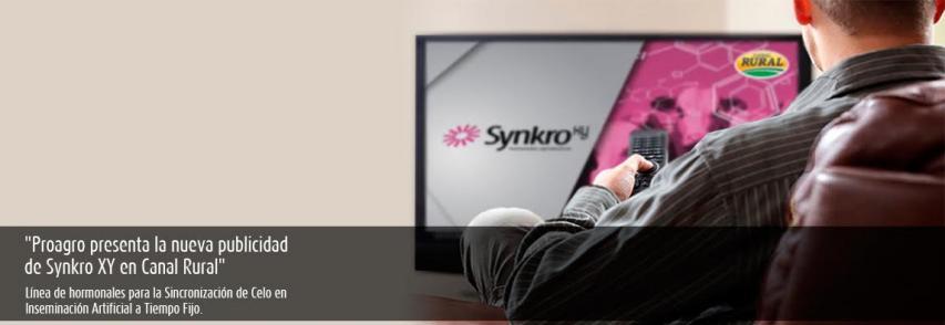 (Español) Nueva publicidad de Synkro XY en Canal Rural